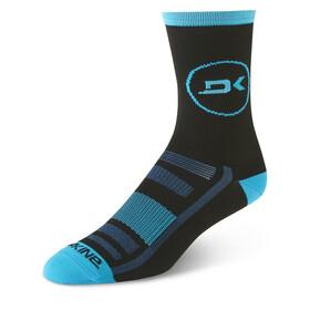 Dakine Singletrack Socks Men cyan/black